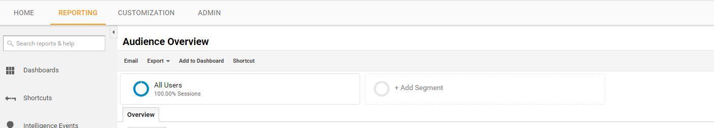 Add Segment Google Analytics - markscheets.com